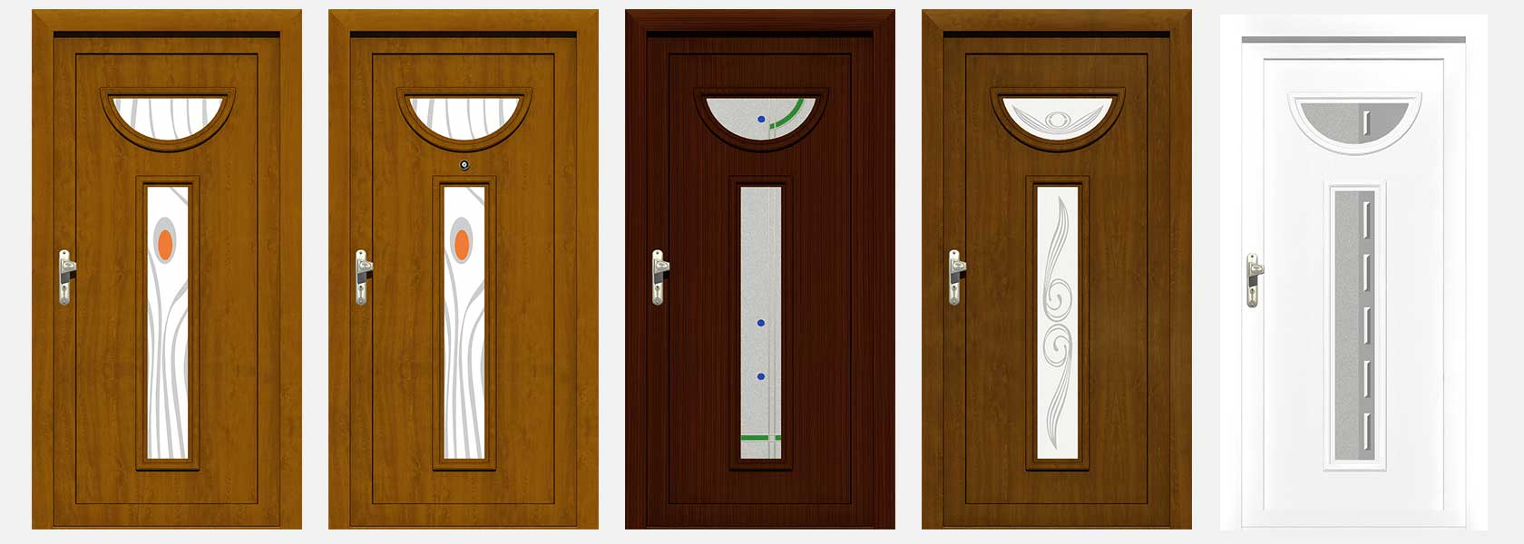 upvc front doors panels