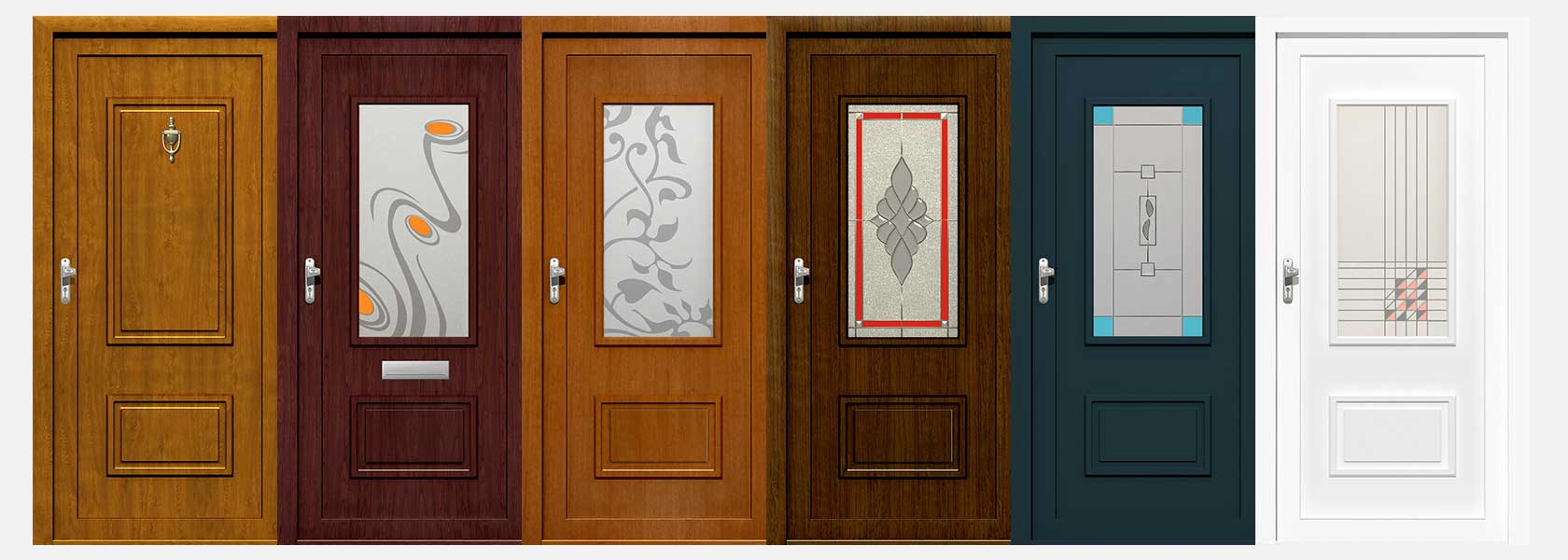 Made to measure front doors