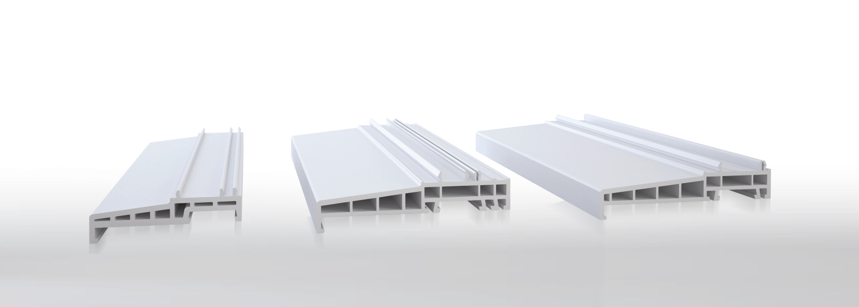 Additional Aluplast profiles and accessories
