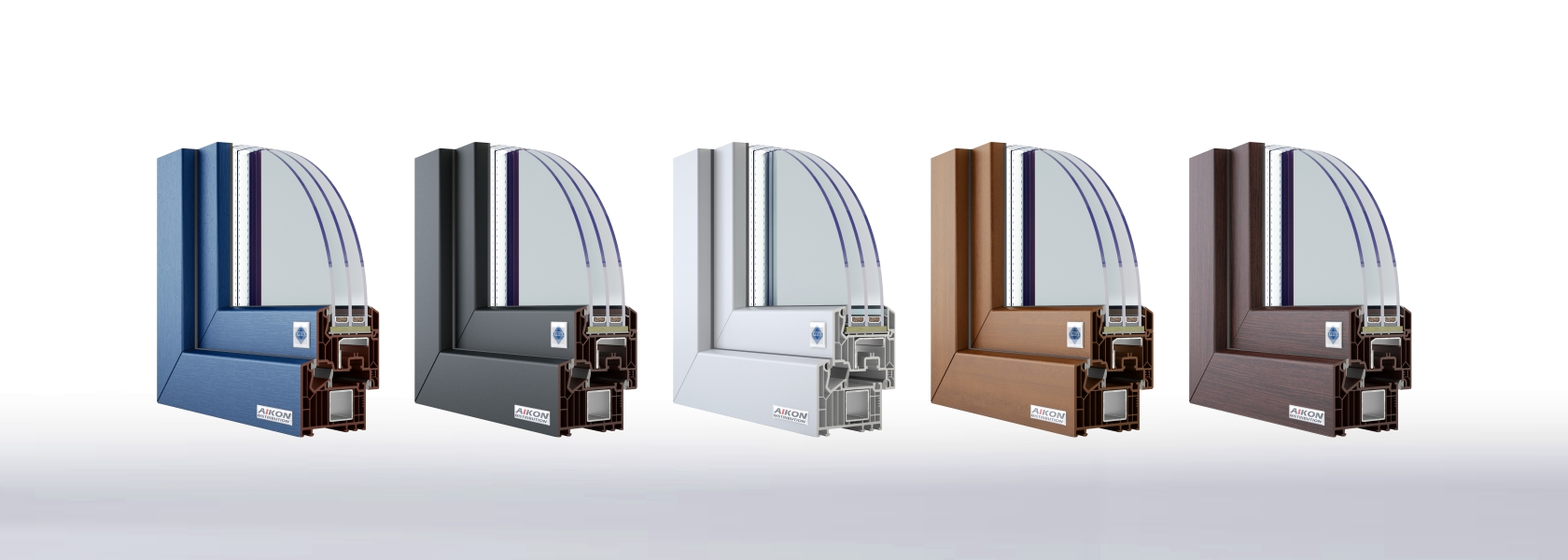 veka windows colours