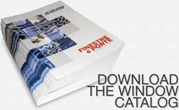 Distributor of windows and doors - product catalog