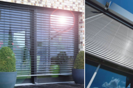 External Venetian blinds – methods of assembly.