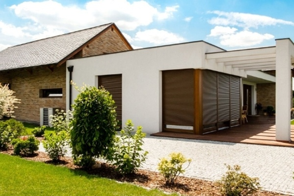 External roller shutters – protection or decorative element of house elevation?